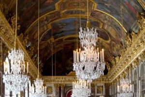 El ostentoso salon de los espejos - Versalles